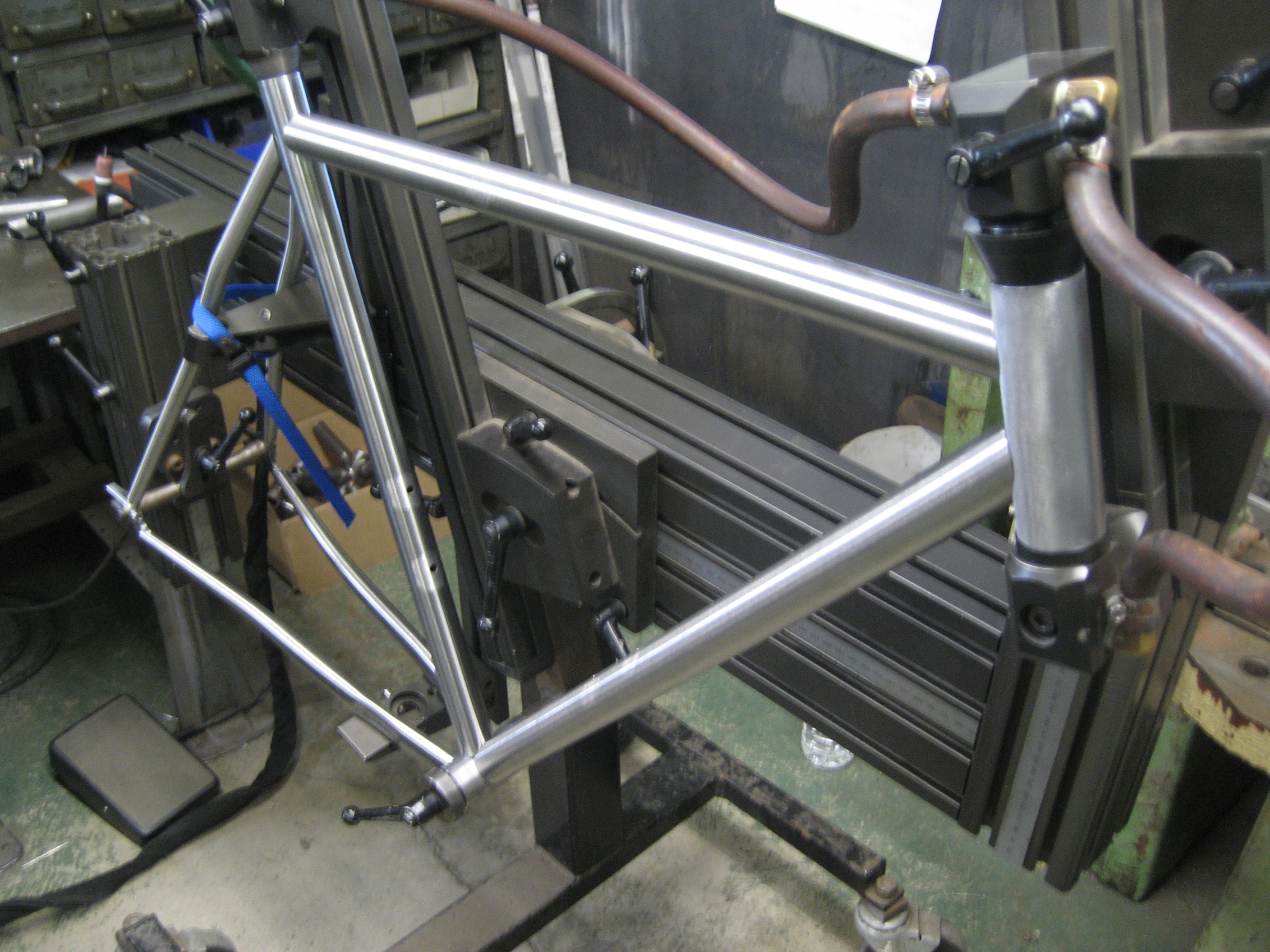 Tubes In Welding Jig 171 Metal Guru